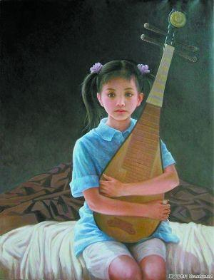 憩(布面油画) 吴铭105cm×80cm 15000元